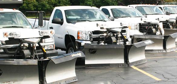 snow removal trucks
